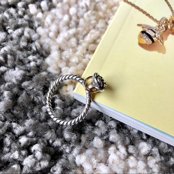 f2821ceec Pandora Jewelry | New Reminder Flower Silver W 14k Gold | Poshmark